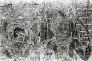 Sacred Ramayan on Bas-Releif